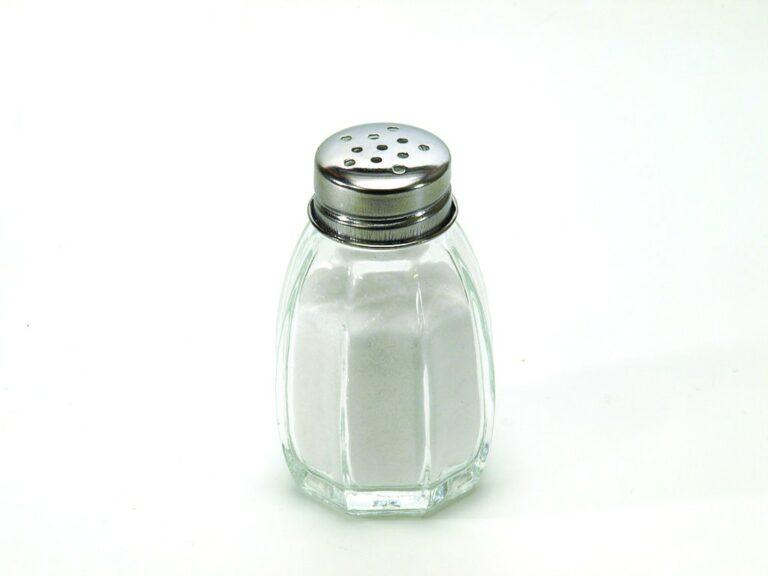 Salt—Not So Bad