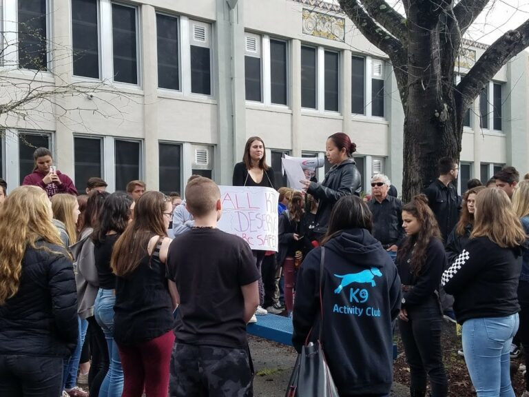 Analy Students Stage Walkout