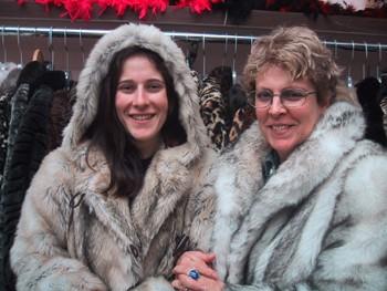 Fur Coat Flap