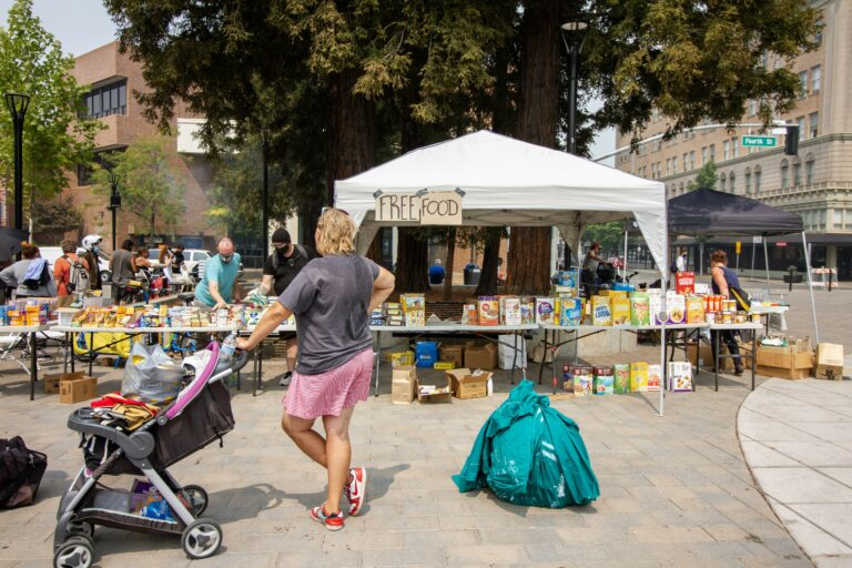 Activists Host Mutual Aid Event During Dual Emergencies