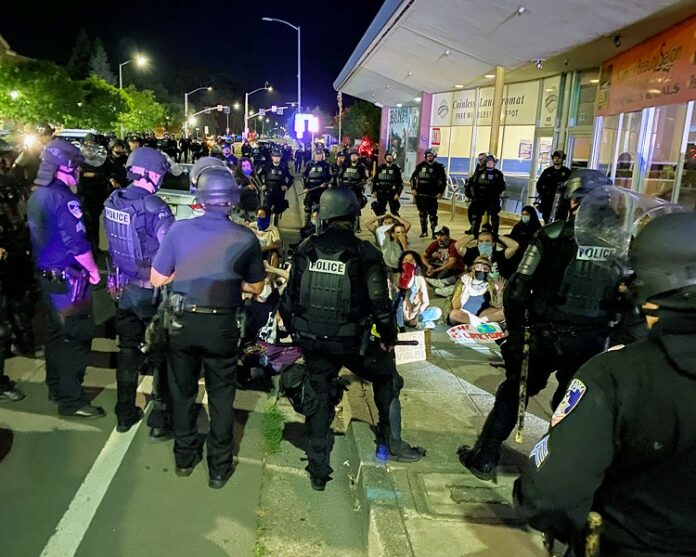 Santa Rosa mass arrest June 2, 2020