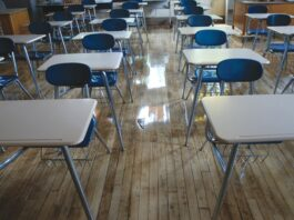 School desks California