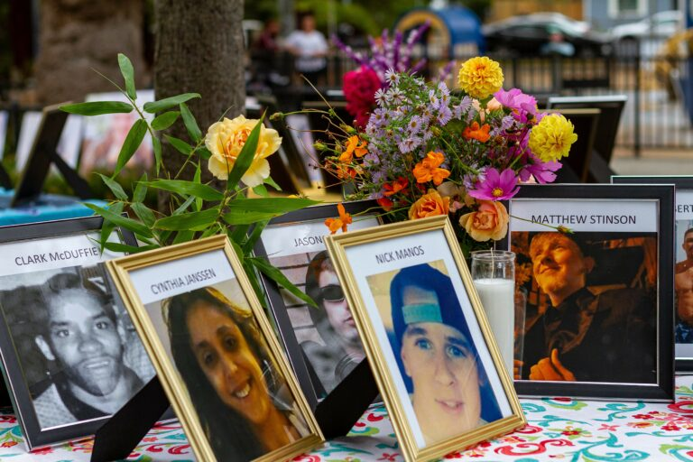 Olive Park Memorial Honors Sonoma County's Unhoused Residents Who Have Died