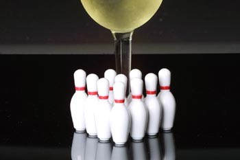 Wine and Bowling