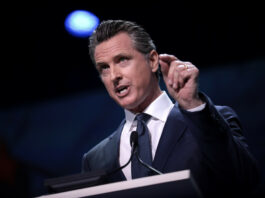 Gavin Newsom California Democratic Party 2019