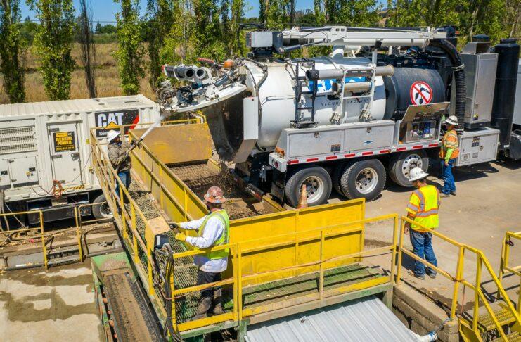 Bay Area Concrete Recyling California PG&E