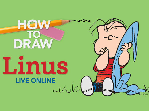 LIVE ONLINE: How to Draw Linus