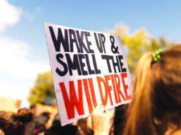 Wildfire climate change California Sonoma County