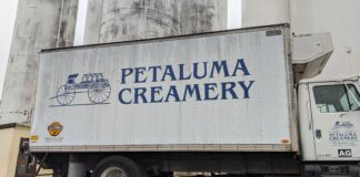 Petaluma Creamery truck