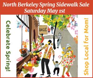 North Berkeley Sidewalk Sale