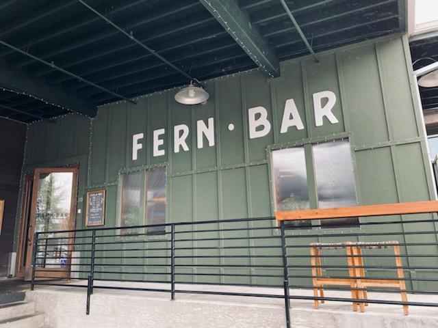 Fern Bar sign