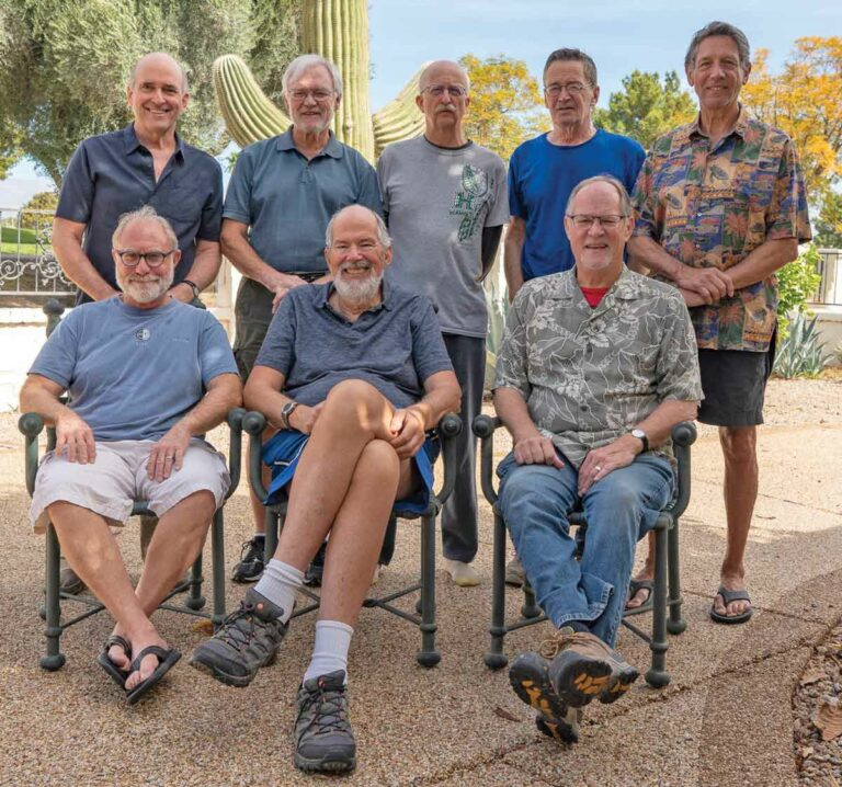 Regrouping: Marin men's group sticks together for over 40 years