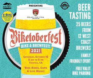 beer tasting, bike riding event, live music marin california